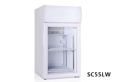 Changes in temperature display cabinet